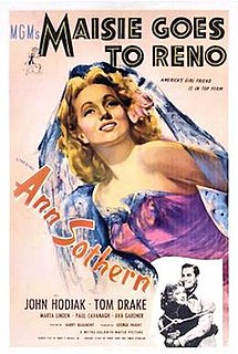<i>Maisie Goes to Reno</i> 1944 film by Harry Beaumont