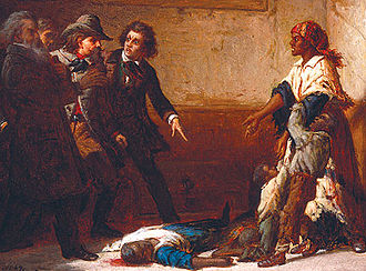 Margaret Garner - Thomas Satterwhite Noble's 1867 painting, The Modern Medea was based on Garner's story.