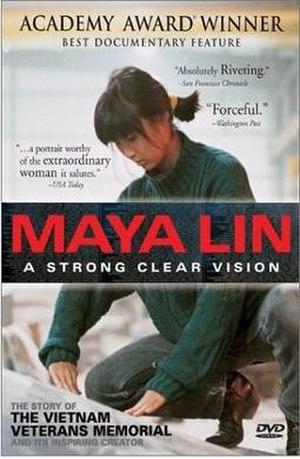 Maya Lin: A Strong Clear Vision - Image: Maya Lin A Strong Clear Vision