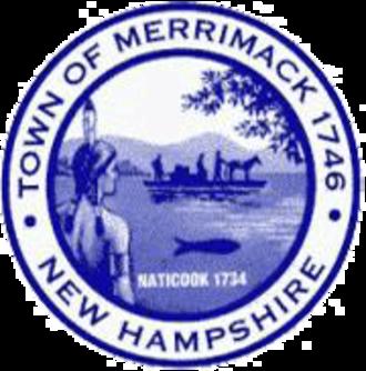 Merrimack, New Hampshire - Image: Merrimack Town Seal