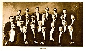 Glee club - The Miami University Glee Club in 1907