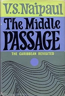 <i>The Middle Passage</i> (book) book by V.S. Naipaul