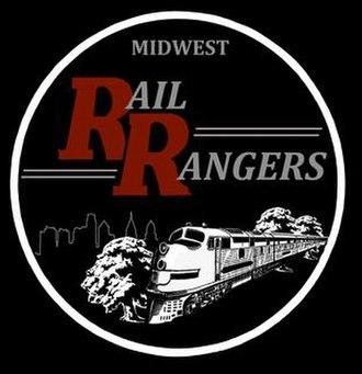 Midwest Rail Rangers - Image: Midwest Rail Rangers Logo, Dec 2018
