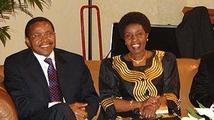 Asha-Rose Migiro - Migiro with President Jakaya Kikwete