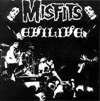 Evilive - Image: Misfits Evilive EP cover