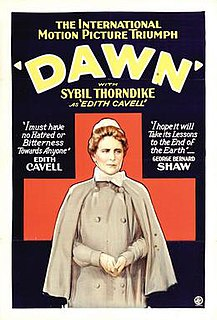 <i>Dawn</i> (1928 film) 1928 British silent war film directed by Herbert Wilcox