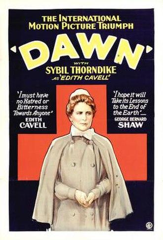 Dawn (1928 film) - Movie poster
