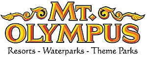 Mt. Olympus Water & Theme Park - Image: Mt. Olympus Water & Theme Park logo