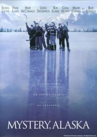 Mystery, Alaska - Theatrical release poster