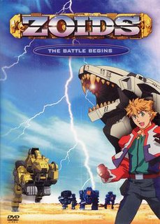 <i>Zoids: New Century</i> Anime television series created in 2001 by Shogakukan, Inc
