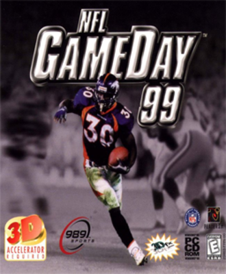 NFL GameDay (video game series) - Box art for NFL GameDay 99