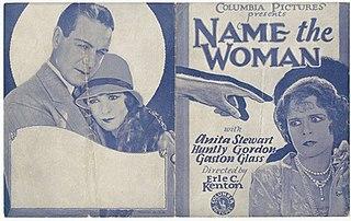 <i>Name the Woman</i> (1928 film) 1928 film