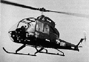 Fairchild Hiller FH-1100 - YOH-5A LOH