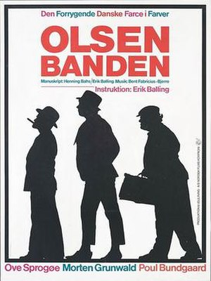 The Olsen Gang (film) - Theatrical poster