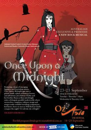 Once Upon a Midnight - Poster for the Adelaide production