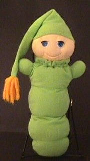 Glo Worm Line of stuffed animal toys introduced in 1982
