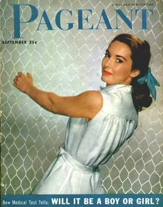 Pageant (magazine) - Image: Pageant cover