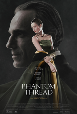 Phantom Thread - Theatrical release poster