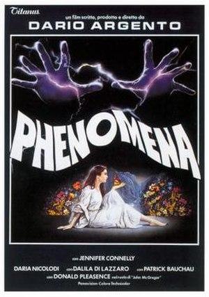 Phenomena (film) - Image: Phenomena poster