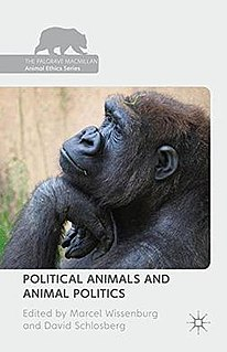 <i>Political Animals and Animal Politics</i> Collection of papers about animal ethics