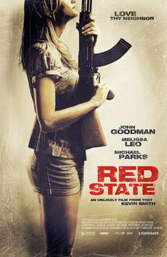 Red State (2011 film) - Theatrical release poster