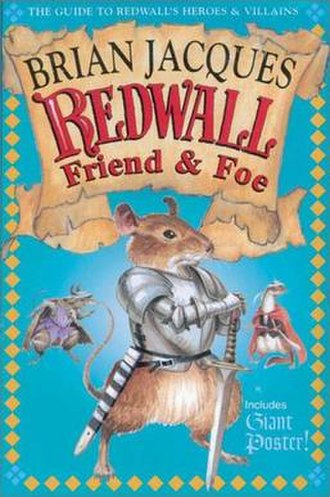 Redwall Friend & Foe - First US Edition Cover