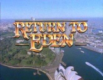 Return to Eden - Return to Eden series title screen