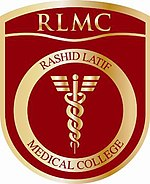 Logo of 'Rashid Latif Medical College'