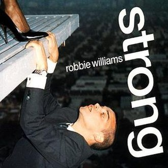 Strong (Robbie Williams song) - Image: Robbie Williams Strong CD single cover