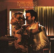 Robbie Williams and Nicole Kidman - Somethin Stupid - CD single cover.jpg