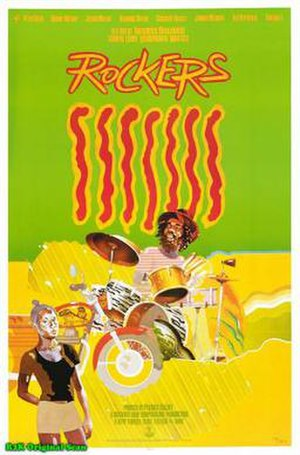Rockers (1978 film) - Image: Rockers Film Poster