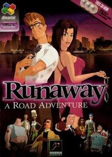 """Les jeux d'aventure (dont les """"point'n click"""" et les """"Visual Novel"""")  220px-Runawaybox"""