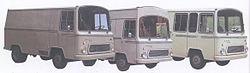 1965 Sava 213 vans
