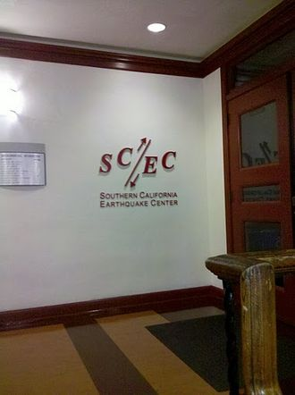 Southern California Earthquake Center - SCEC Headquarters in Zumberge Hall