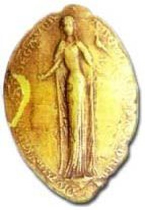 Isabella of Angoulême - Seal of Isabella of Angoulême (Municipal Archives, Angoulême)