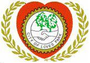 Loves Park, Illinois - Image: Seal of Loves Park