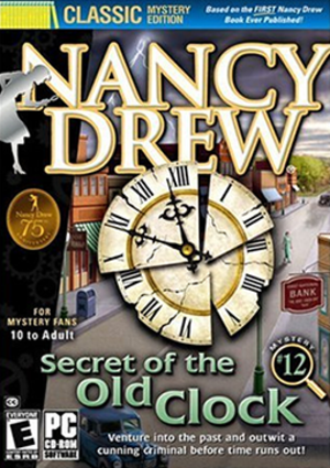 Nancy Drew: Secret of the Old Clock - Image: Secret of the Old Clock Coverart
