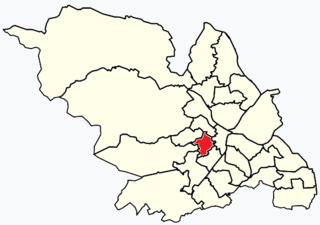 Broomhill and Sharrow Vale Electoral ward in the City of Sheffield, South Yorkshire, England