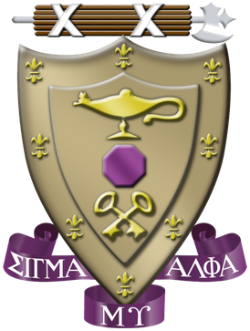 Sigma Alpha Mu Coat of Arms