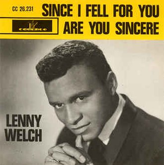 Since I Fell for You - Image: Since I Fell for You Lenny Welch