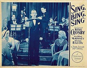 Sing, Bing, Sing - Image: Sing, Bing, Sing advert