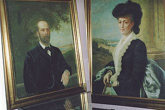 History of the Jews in Ireland - Sir Otto Jaffe and Lady Jaffe