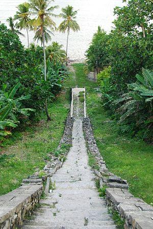Yamdena - Image: Sogliat Dol Stone Stair Case