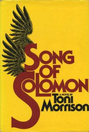 Song of Solomon (novel) - Cover of the first edition