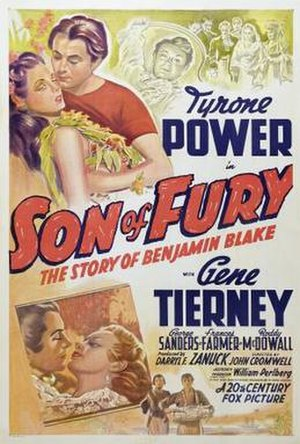 Son of Fury: The Story of Benjamin Blake - Image: Sonof Furyposter