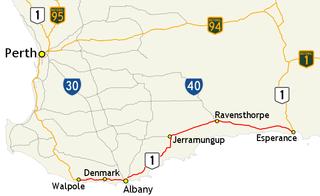 South Coast Highway highway in Western Australia