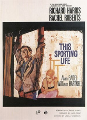 This Sporting Life - Film poster by Renato Fratini