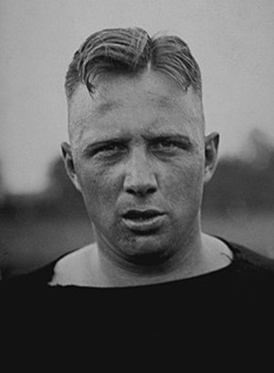 1920 College Football All-America Team - Stan Keck.