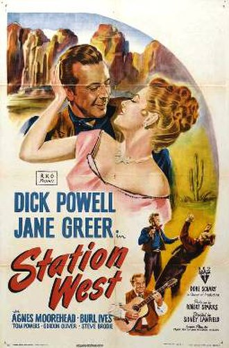 Station West - Theatrical release poster
