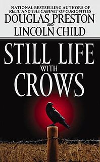 <i>Still Life with Crows</i> novel by Lincoln Child